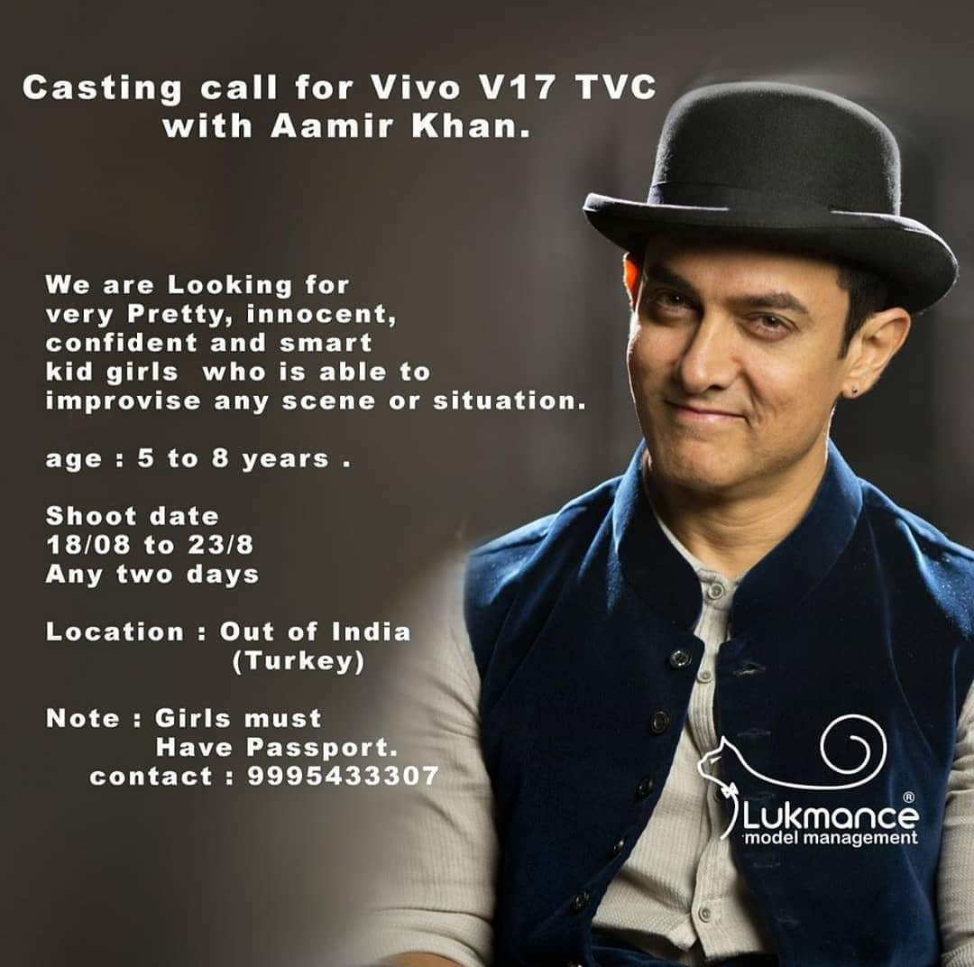 Casting call / Audition update (Films, TV serial, Web series
